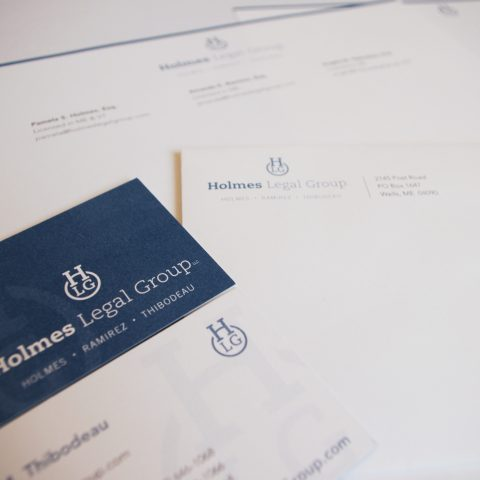 Holmes Legal Group Identity