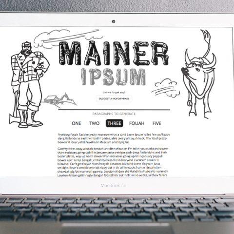 Mainer Ipsum